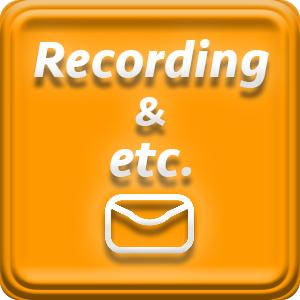 レコーディング・その他問い合わせ