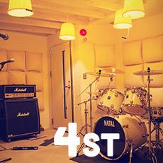4stリハーサルスタジオ