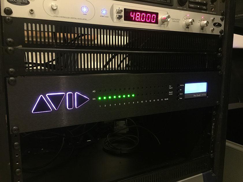 レコーディング全スタジオに AVID MTRXが導入!の画像