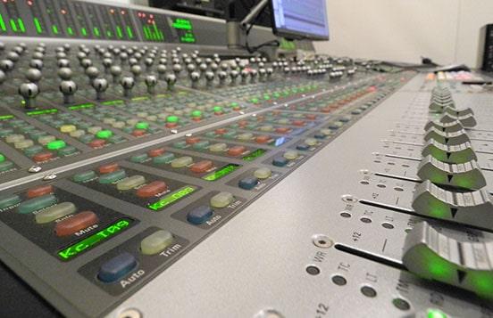 レコーディングスタジオの画像