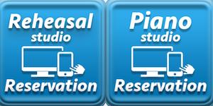 リハーサルスタジオ・ピアノスタジオのWeb予約が新しくなりました。新規の方でも予約可能に!の画像