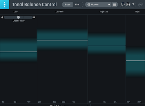 izotope_Tonal Balance Control 2